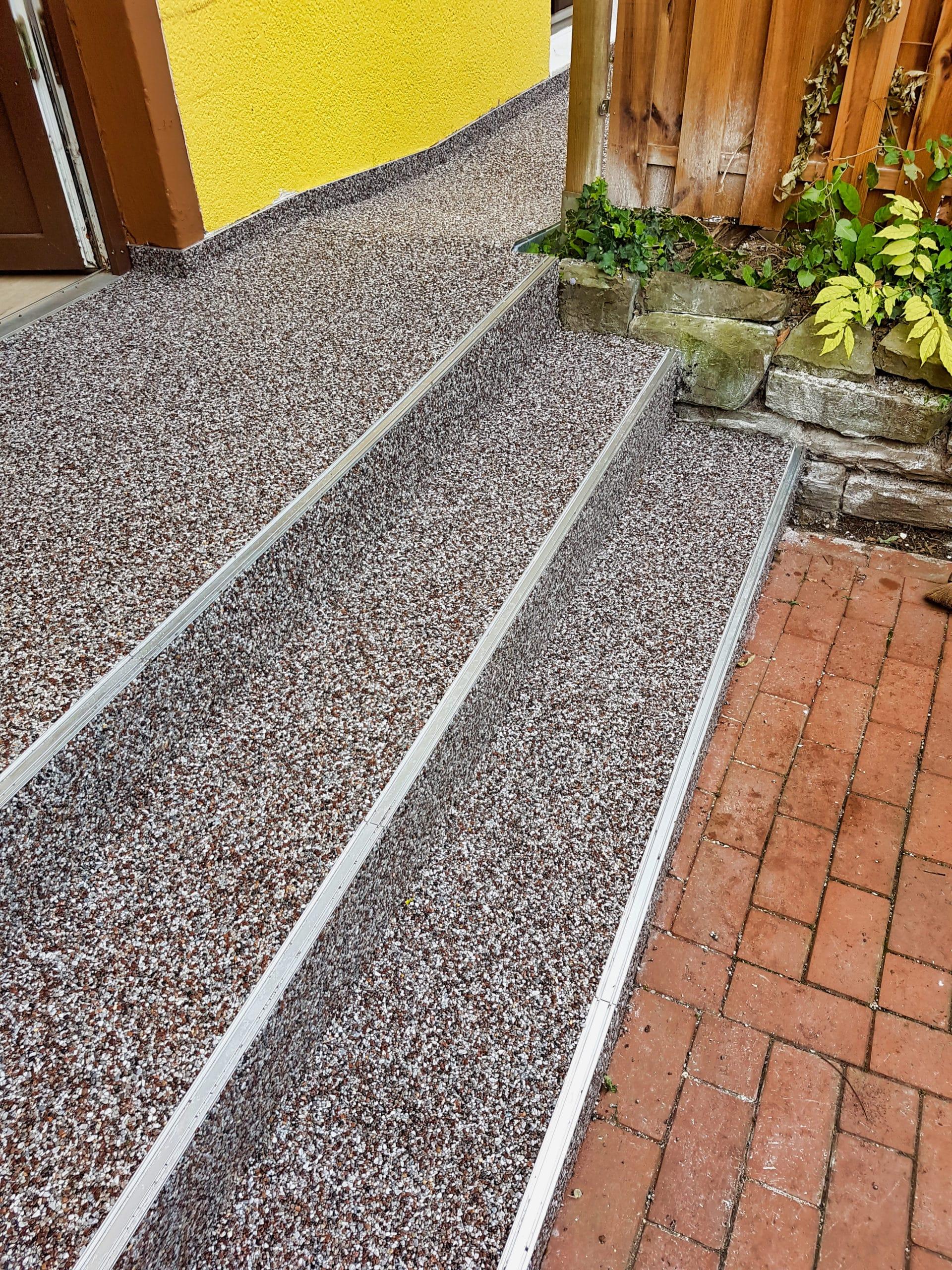 Treppensanierung mit Steinteppich » Steinteppich Ratgeber