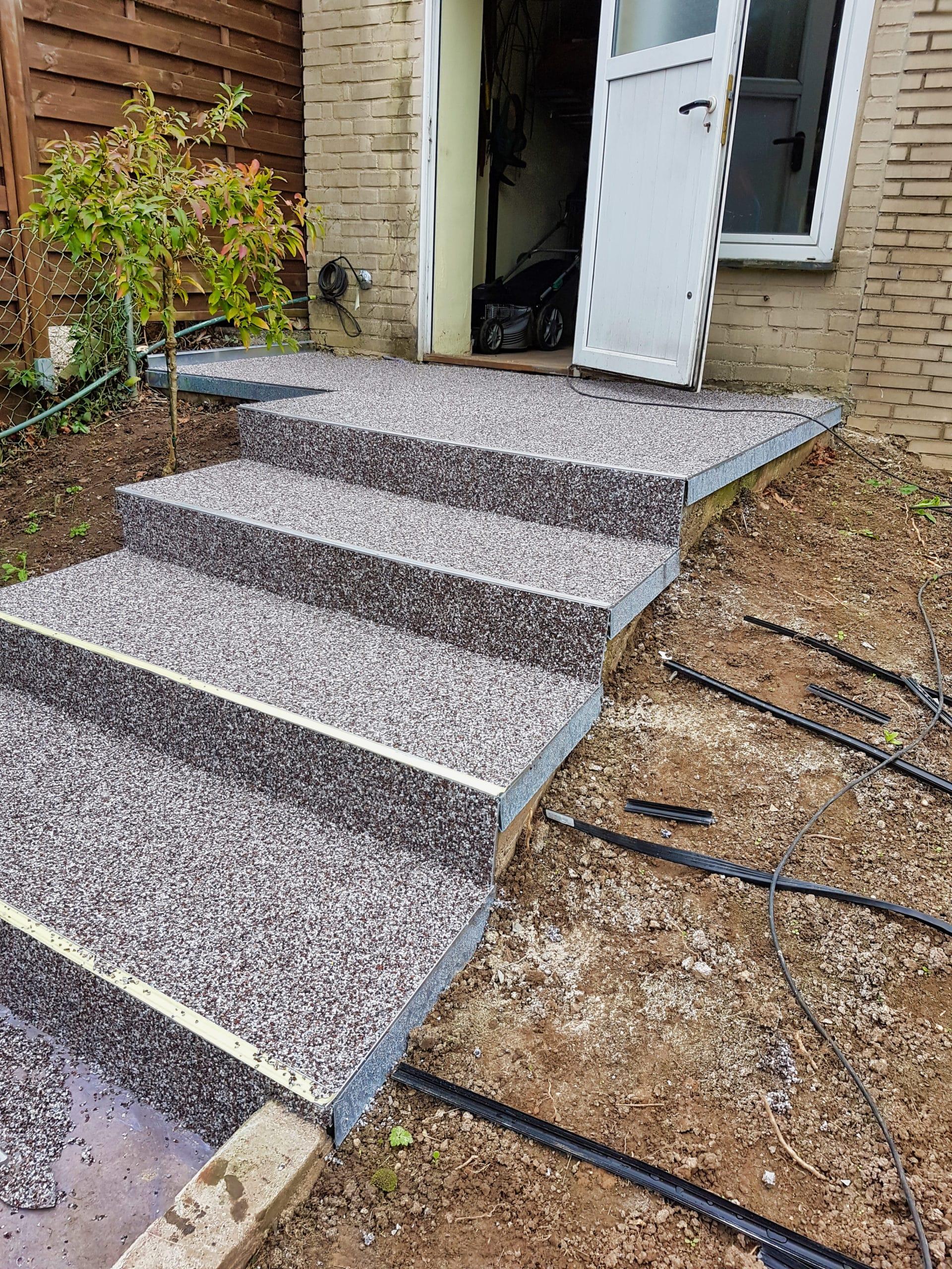 Treppensanierung Mit Steinteppich Steinteppich Ratgeber