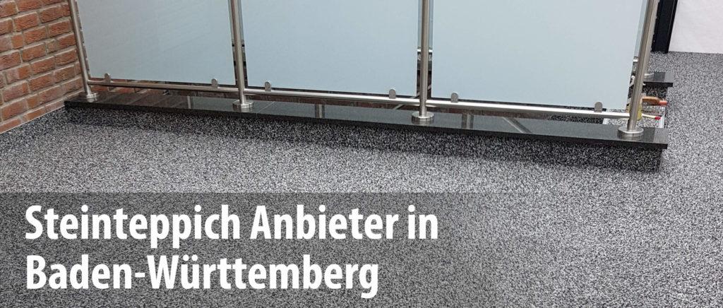 Wir arbeiten mit Steinteppich-Anbietern in Baden-Württemberg zusammen und bieten mit unseren Partnern die professionelle Sanierung und Abdichtung von Balkonen und Terrassen.