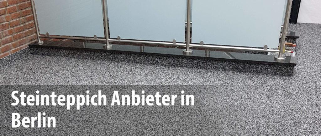 Wir arbeiten mit Steinteppich-Anbietern in Berlin zusammen und bieten mit unseren Partnern die professionelle Sanierung und Abdichtung von Balkonen und Terrassen.