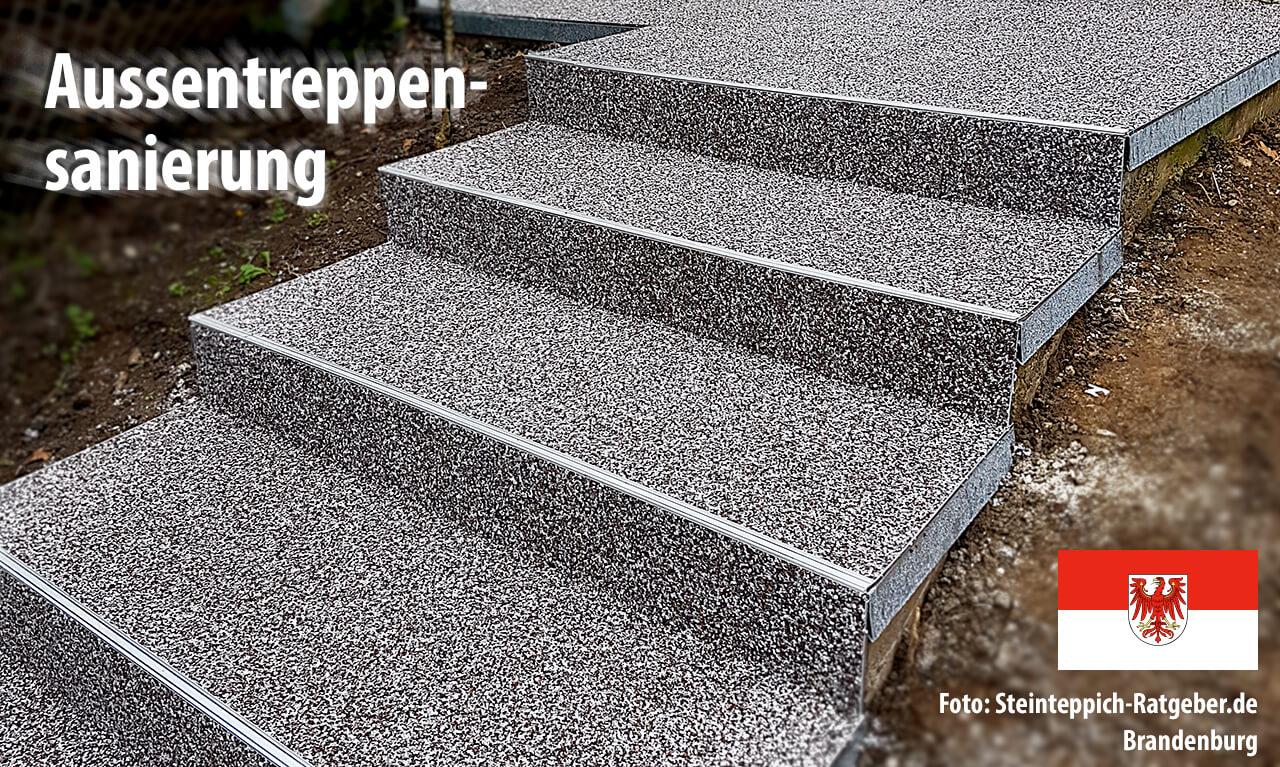 Wir arbeiten mit Steinteppich-Anbietern in Brandenburg zusammen und bieten mit unseren Partnern die professionelle Sanierung und Abdichtung von Balkonen und Terrassen.