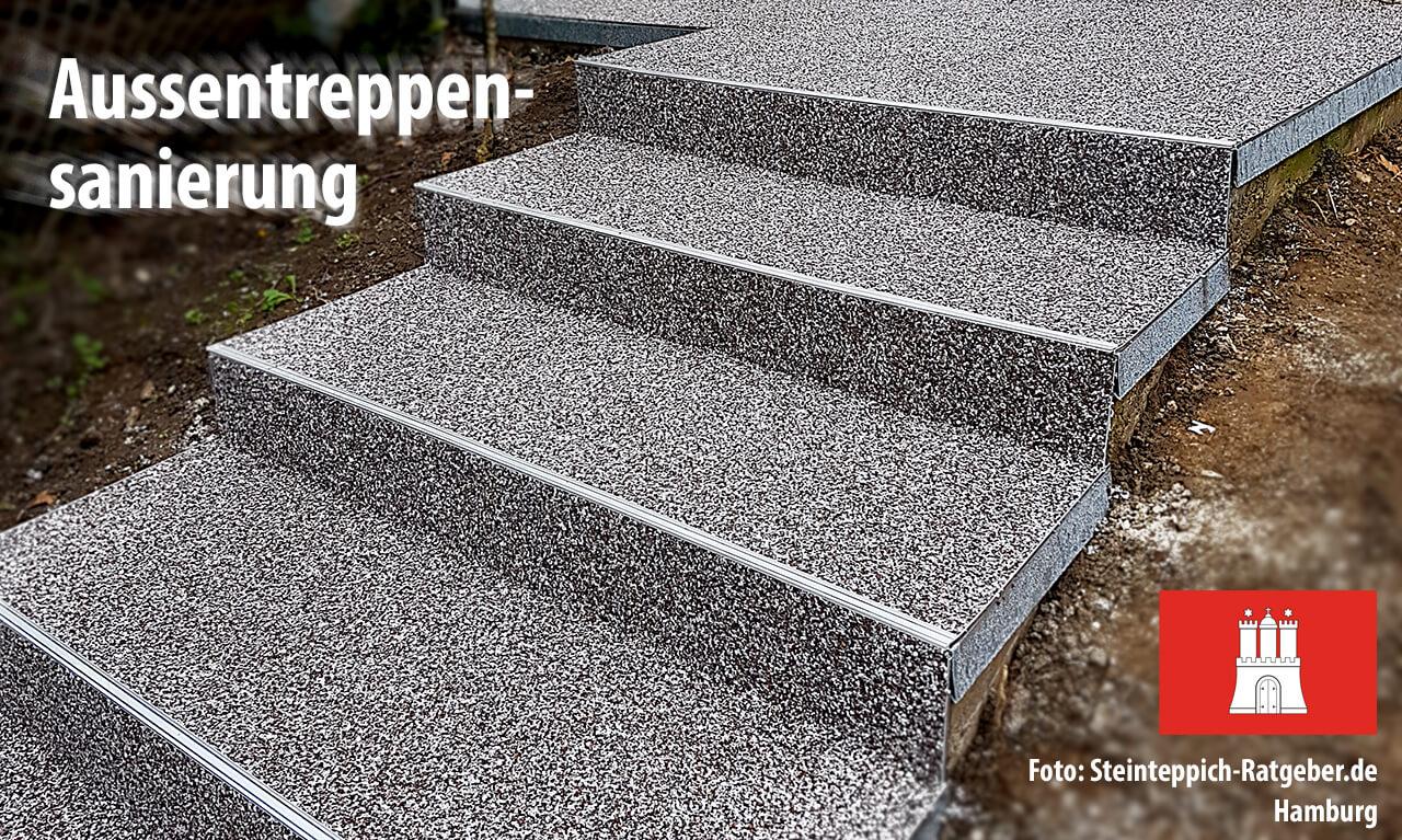 Steinteppich verlegen » Ihre Profis in Hamburg – gut & günstig